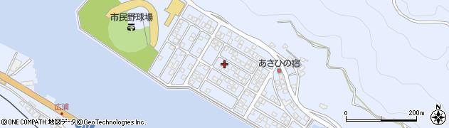 大分県津久見市千怒5192周辺の地図
