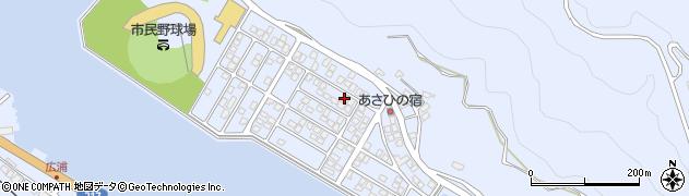 大分県津久見市千怒5163周辺の地図