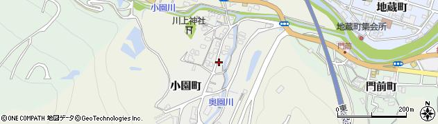 大分県津久見市小園町5周辺の地図