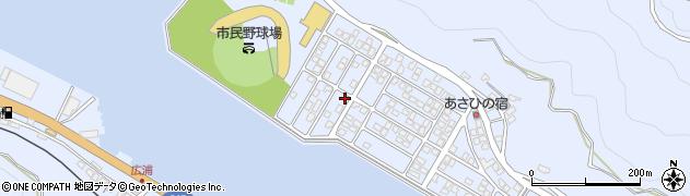大分県津久見市千怒5297周辺の地図