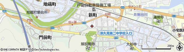 大分県津久見市新町9周辺の地図
