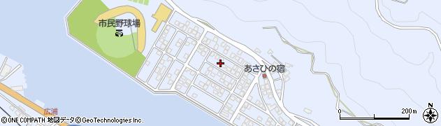 大分県津久見市千怒5178周辺の地図