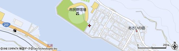 大分県津久見市千怒5320周辺の地図