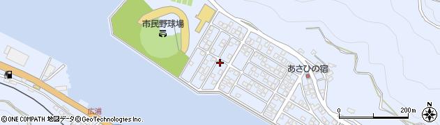 大分県津久見市千怒5298周辺の地図