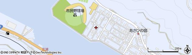 大分県津久見市千怒5305周辺の地図