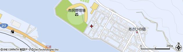 大分県津久見市千怒5314周辺の地図