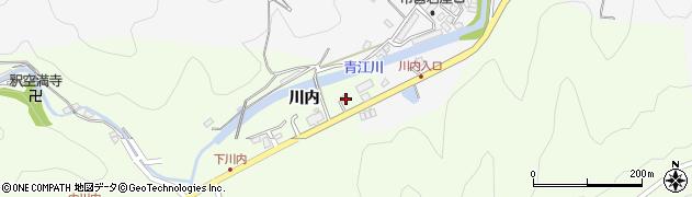 大分県津久見市上青江5782周辺の地図