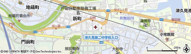 大分県津久見市新町5周辺の地図