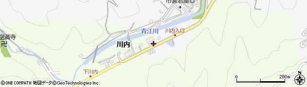 大分県津久見市上青江5829周辺の地図