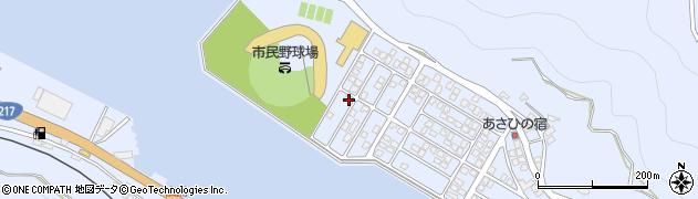 大分県津久見市千怒5301周辺の地図