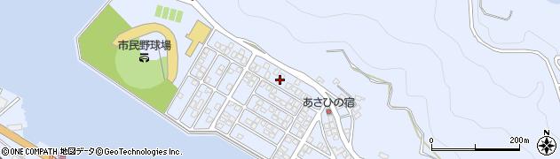 大分県津久見市千怒5155周辺の地図