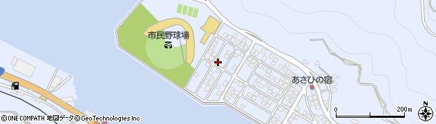 大分県津久見市千怒5294周辺の地図