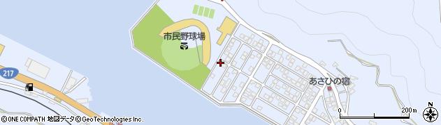 大分県津久見市千怒5302周辺の地図