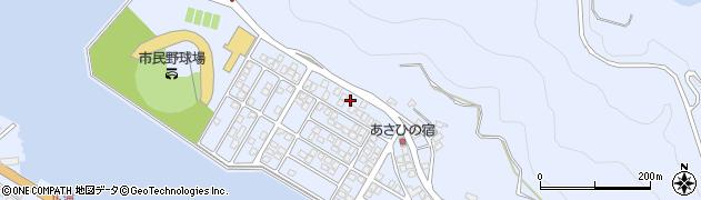 大分県津久見市千怒5140周辺の地図