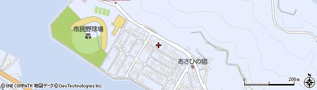 大分県津久見市千怒5157周辺の地図