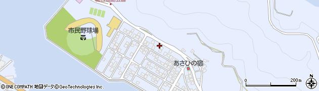 大分県津久見市千怒5156周辺の地図