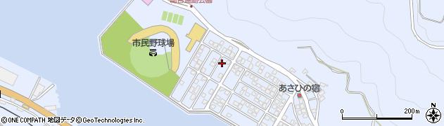 大分県津久見市千怒5274周辺の地図