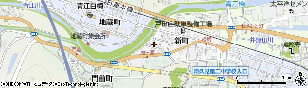 大分県津久見市新町16周辺の地図