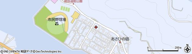 大分県津久見市千怒5159周辺の地図