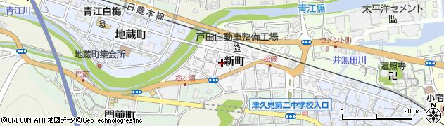 大分県津久見市新町11周辺の地図