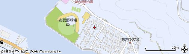 大分県津久見市千怒5275周辺の地図