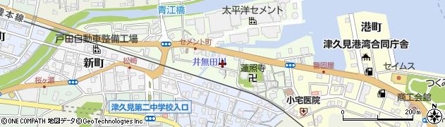 大分県津久見市セメント町5周辺の地図