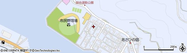 大分県津久見市千怒5276周辺の地図