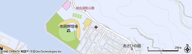 大分県津久見市千怒5264周辺の地図