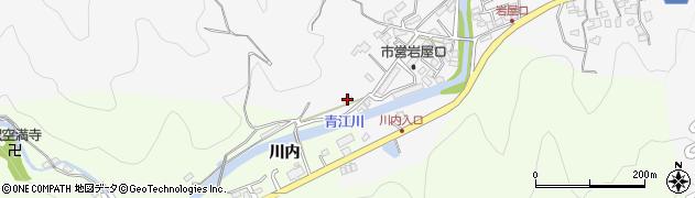 大分県津久見市上青江1290周辺の地図