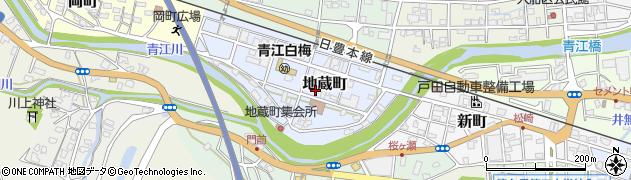 大分県津久見市地蔵町5周辺の地図