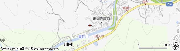 大分県津久見市上青江1304周辺の地図