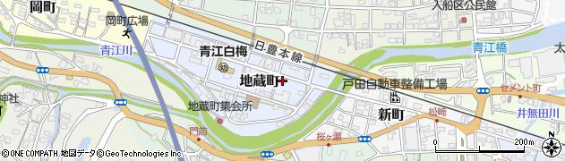 大分県津久見市地蔵町2周辺の地図