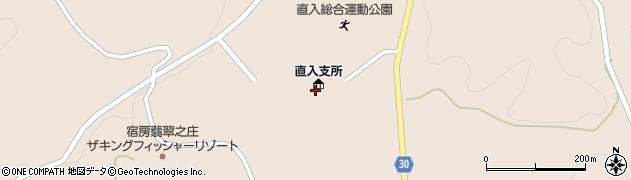 大分県竹田市直入町大字長湯8201周辺の地図
