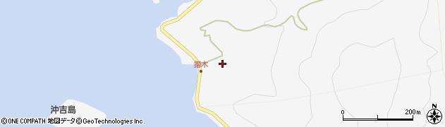 大分県津久見市四浦5480周辺の地図