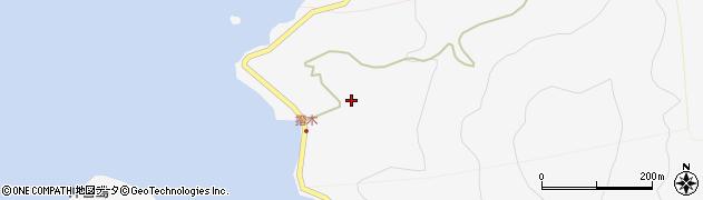 大分県津久見市四浦5563周辺の地図
