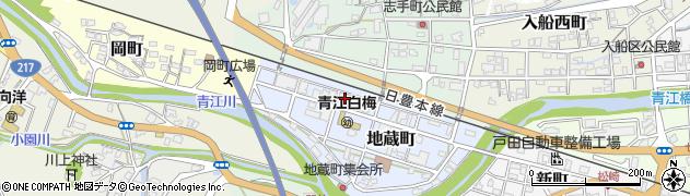 大分県津久見市地蔵町7周辺の地図