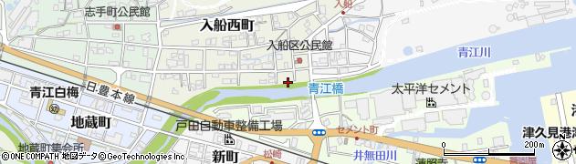 大分県津久見市入船西町9周辺の地図