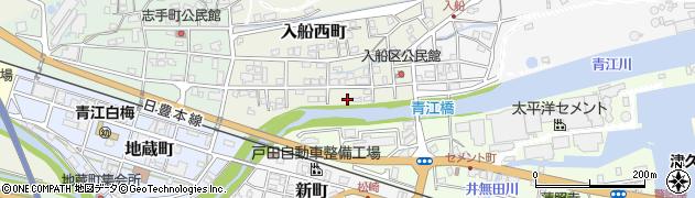 大分県津久見市入船西町10周辺の地図