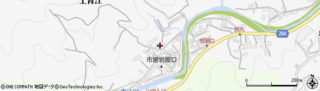 大分県津久見市上青江1312周辺の地図