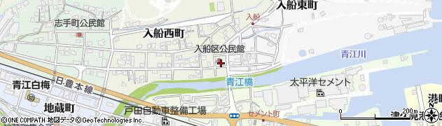 大分県津久見市入船西町2周辺の地図