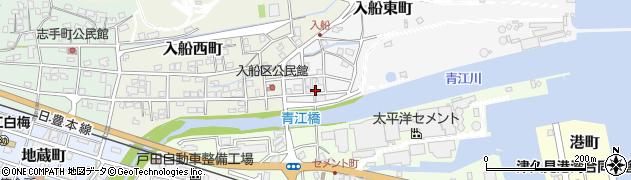 大分県津久見市入船東町5周辺の地図