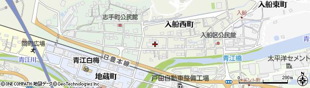 大分県津久見市入船西町18周辺の地図