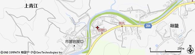 大分県津久見市上青江5306周辺の地図