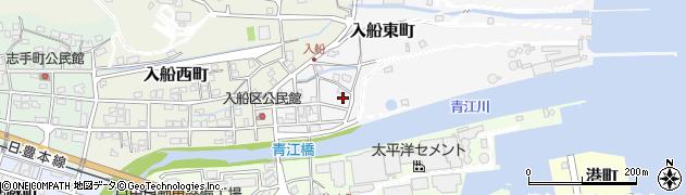 大分県津久見市入船東町8-19周辺の地図
