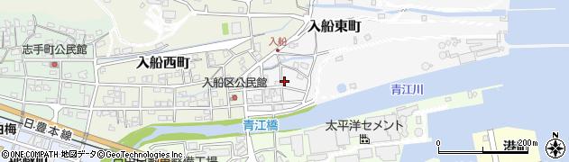 大分県津久見市入船東町8-8周辺の地図