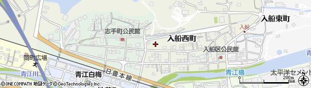 大分県津久見市入船西町12周辺の地図