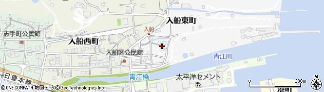 大分県津久見市入船東町9周辺の地図