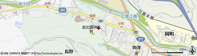 大分県津久見市上青江4695周辺の地図