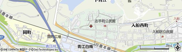 大分県津久見市志手町10周辺の地図