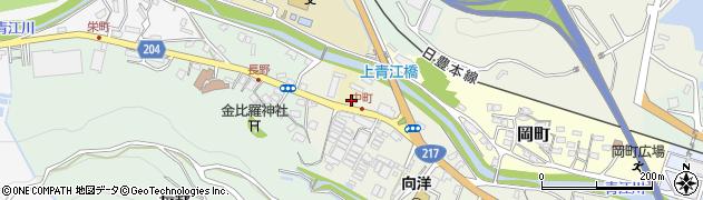 大分県津久見市中町4604周辺の地図